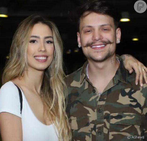 Gabi Brandt e Saulo Poncio estão separados, confirma pai do cantor neste domingo, dia 01 de março de 2020