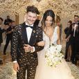 A influencer Gabi Brandt e o cantor Saulo Poncio se casaram em janeiro de 2019