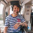 Saulo Poncio teve suas atitudes criticadas pelo pai: 'Está perdido'