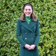 Kate Middleton mostrou toda a versatilidade do verde na escolha de seu look