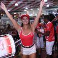 Viviane Araújo é rainha de bateria do Salgueiro