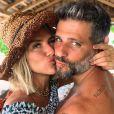 Giovanna Ewbank e Bruno Gagliasso se assustaram com a notícia da gravidez da atriz