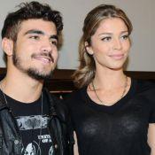Caio Castro cita Grazi Massafera em brincadeira na TV: 'Fazer uns filhos'