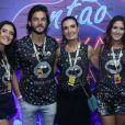 Namorado de Fátima Bernardes, Túlio Gadêlha elogiou foto da jornalista com filhos