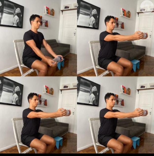 Faça os exercícios em casa para melhorar a postura e ter mais equilíbrio!