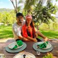 Maiara e o namorado, Fernando Zor, encantaram a mãe da cantora com o momento romântico