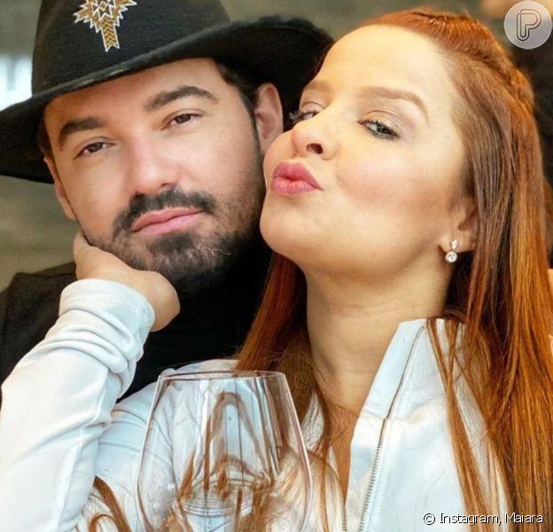 Maiara é clicada de biquíni por Fernando e mãe da cantora tieta o casal. Veja foto nesta terça-feira, dia 14 de abril de 2020