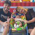 Filho de Marília Mendonça acaba de completar 4 meses e surpreende Maiara e Maraisa