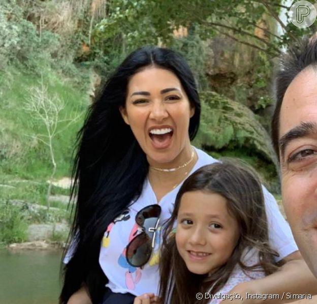Simaria posta foto da filha, Giovana, e fãs apontam semelhança entre elas, em 19 de abril de 2020