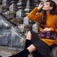 O suéter é prático, confortável e deixa o look mais arrumadinho