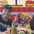 Marília Mendonça e Murilo Huff são pais do pequeno Leo, de 4 meses