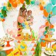 Marília Mendonça exibe decoração da festa do filho