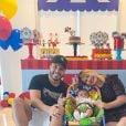 Marília Mendonça comemora aniversário do filho com Murilo Huff