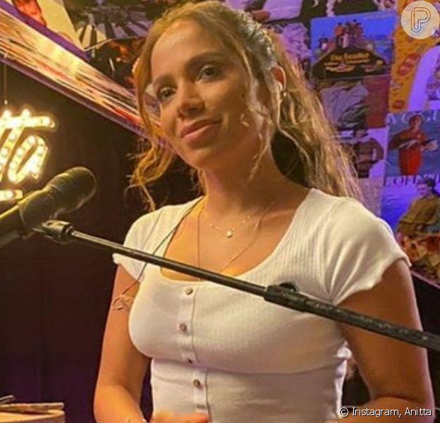 Anitta 'termina' namoro com Gui Araujo na TV