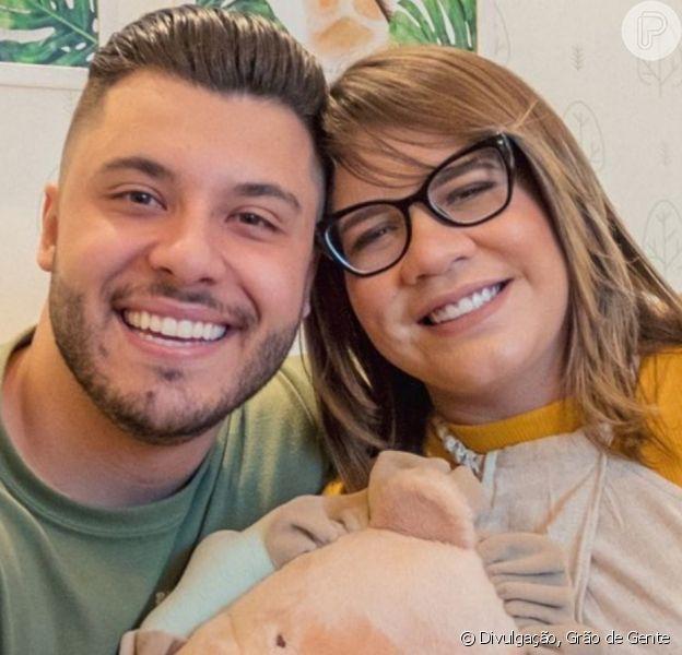 Filho de Marília Mendonça exibe felicidade com presente de Murilo Huff