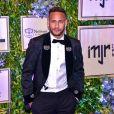 Neymar está passando o período de quarentena com a família