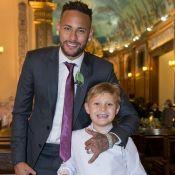 Neymar faz pegadinha com filho, Davi Lucca, em brincadeira: 'Trollagem'. Vídeo!