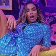 Anitta diz que está testando novo visual: ' Estou aproveitando a quarentena para parar de fazer progressiva. Vamos ver como fica'