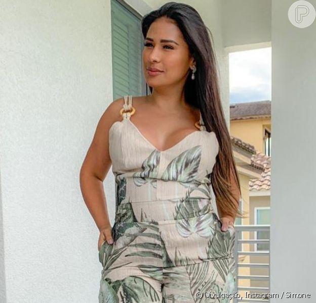 Simone revela cansaço após dia de faxina em sua nova casa em São Paulo, em 30 de maio de 2020