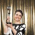 Sandra Annenberg ganhou o prêmio de Jornalismo no Troféu do Domingão 2017