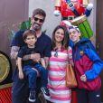 Suzana Alves é casada com o ex-tenista Flávio Saretta e é mãe de Joaquim, de 3 anos. O ex-atleta é pai de Felipe, de 15 anos