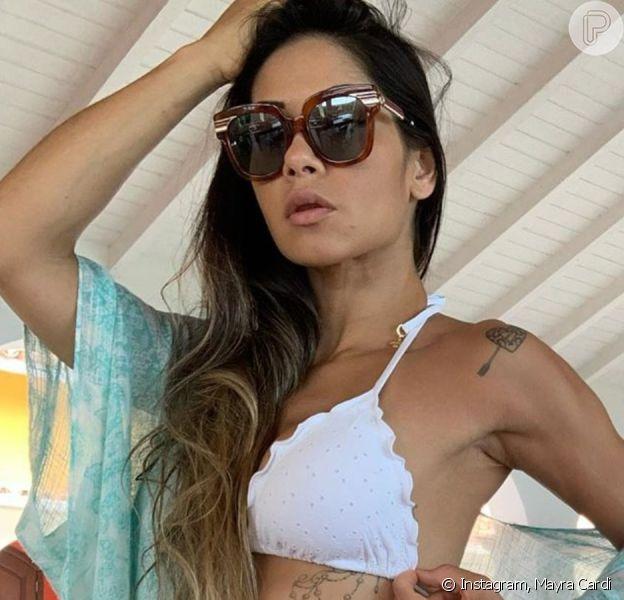 Mayra Cardi mostra resultado de cirurgia