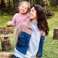 Yanna Lavigne falou sobre rotina com filha, Madalena, de 3 anos