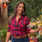 Ivete Sangalo exalta cultura do Nordeste, dança e dá abraço em família em arraiá