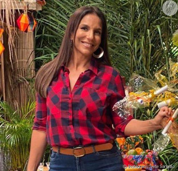 Ivete Sangalo exalta cultura do Nordeste em live com tema em São João