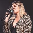 Marília Mendonça revelou que parou de fumar