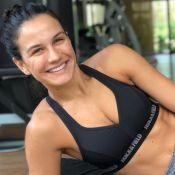 Kyra Gracie mantém cuidados com corpo na gravidez: 'Por enquanto engordei 4 kg'