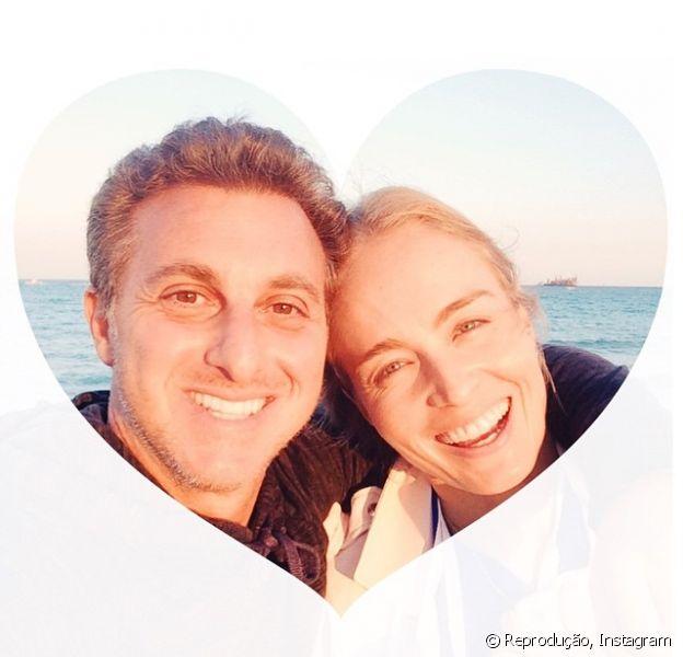 Luciano Huck se declara para Angélica em aniversário de 10 anos de casamento, nesta quinta-feira, 30 de outubro de 2014: 'Passo mais acertado da minha vida: casar com ela'
