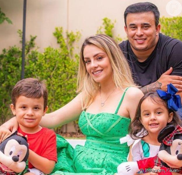 Kauan, da dupla com Matheus, anuncia nascimento do terceiro filho nesta quinta-feira, 2 de julho de 2020, em São Paulo