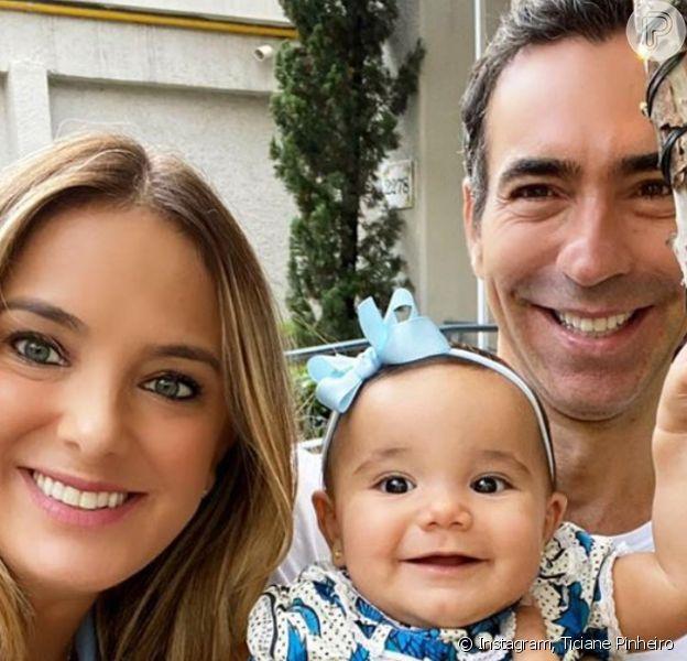 Filha de Ticiane Pinheiro e Cesar Tralli, Manuella comemora 1 ano neste domingo, 12 de julho de 2020. Recorde momentos!