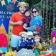 Marília Mendonça e Murilo Huff são pais do pequeno Léo, de 7  meses