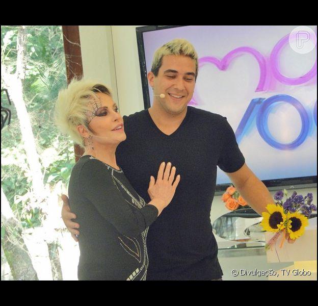 Ana Maria Braga passou o bastão do 'Mais Você' para André Marques nesta sexta-feira, 31 de outubro de 2014