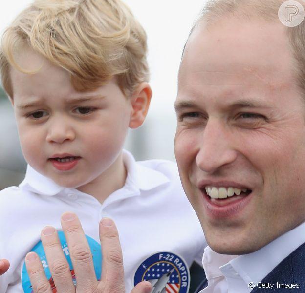 Príncipe George jogador de futebol? William opina sobre futuro do filho. Confira a declaração feita nesta quarta-feira, dia 29 de julho de 2020