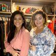 Mileide Mihaile tem ajuda de personal stylist Andrea Cerqueira Buarque para montar looks