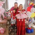 Natália Toscano e Zé Neto são pais de José Filho, de 3 anos, e Angelina, de 2 meses