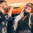 Marília Mendonça foi prestigiada pelo ex, Murilo Huff, em live