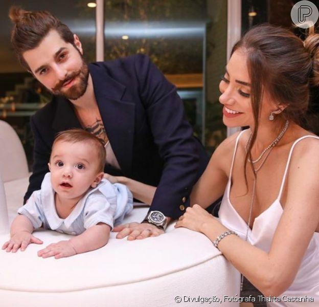 Alok e Romana Novais preparam chá revelação criativo para anunciar sexo do segundo filho
