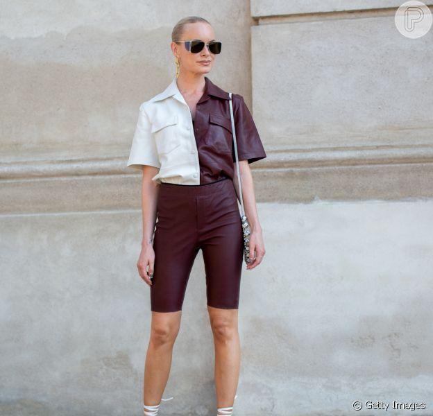 Fique por dentro da moda bicolor com as dicas do Purepeople