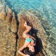 Anitta está usando beachwear poderoso durante a viagem