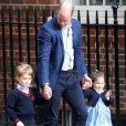 Filha de Kate e William, Charlotte é a mais confiante dos três irmãos