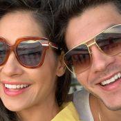 Arthur Aguiar se declara a Mayra Cardi por aniversário: 'Sempre aqui, amo você'