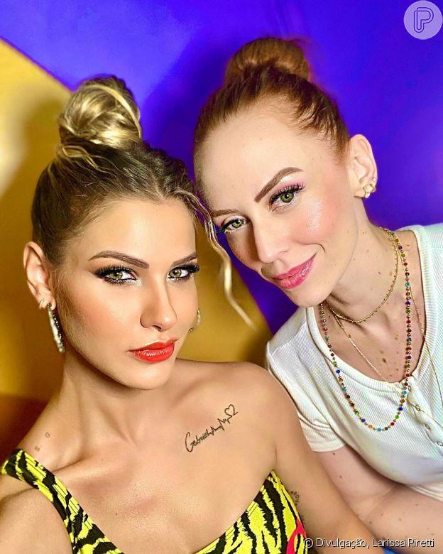 Beauty artist de Andressa Suita, Larissa Piretti entrega segredos dos penteados da artista