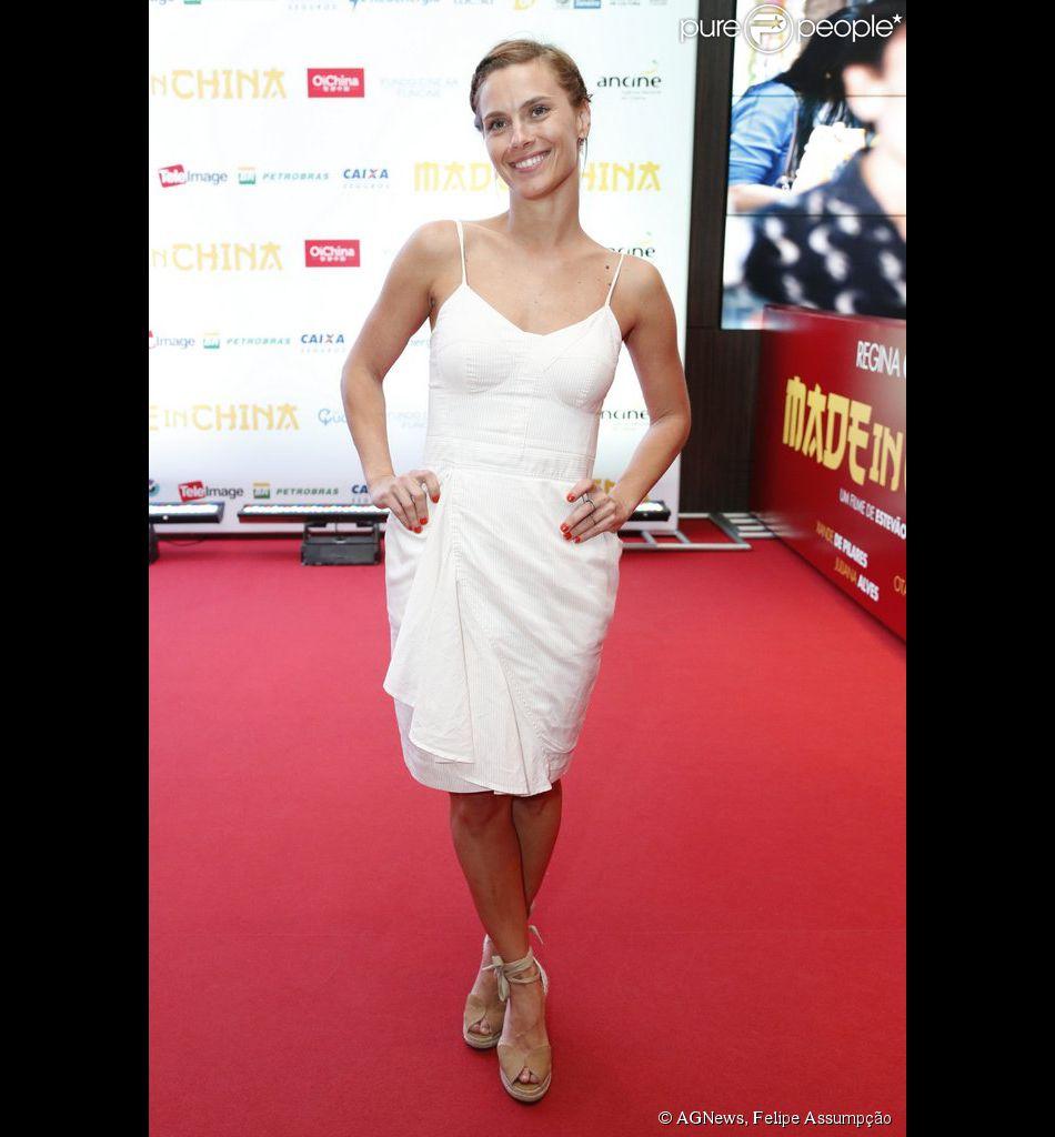 Carolina Dieckmann e outros famosos vão à pré-estreia do filme 'Made in China', nesta segunda-feira, 3 de novembro de 2014