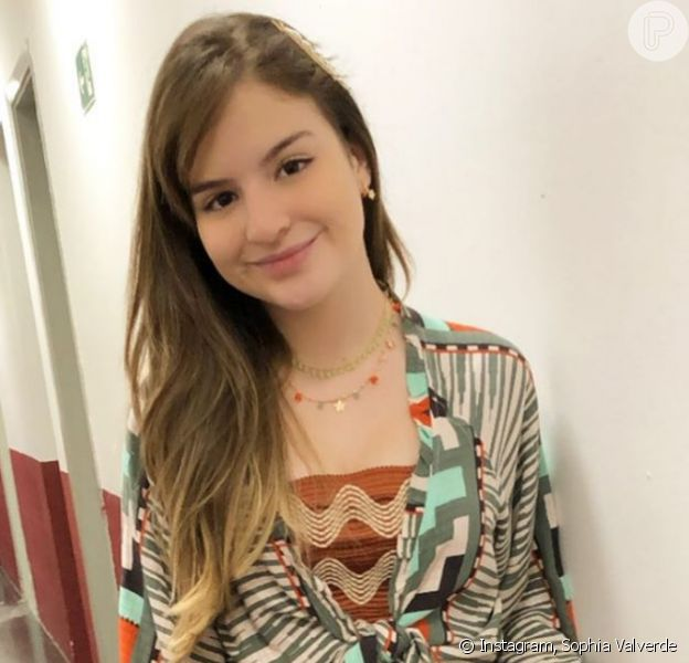 Novela 'Poliana Moça' terá 1º beijo de protagonista, diz Sophia Valverde. Veja entrevista nesta terça-feira, dia 22 de setembro de 2020