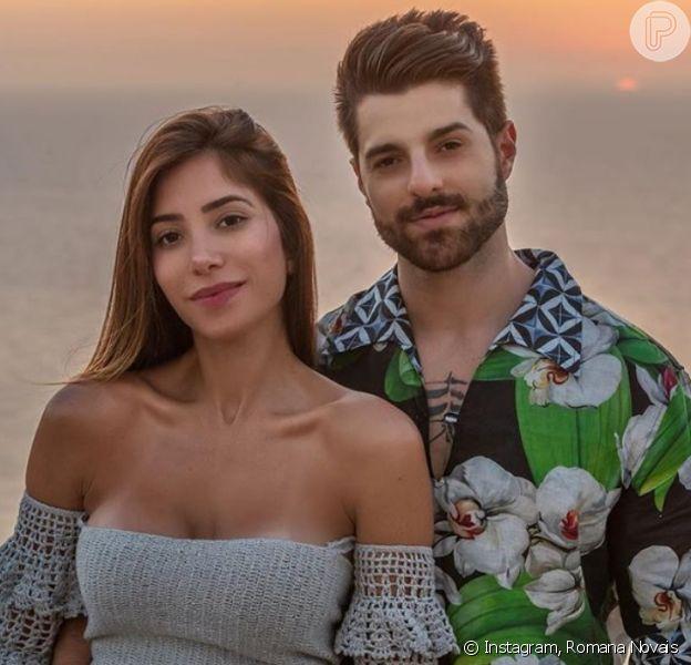 Romana Novais se irrita com críticas após anunciar que filha com Alok se chamará Raika