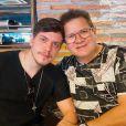 Ximbinha grava música com filho Yago e posta video no Instagram